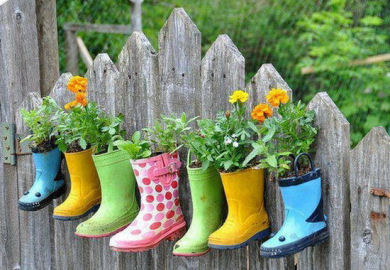 Enjoy container gardening if you have containers that you want to use for gardens but they are made of materials that will rust or disintegrate after being exposed to water workwithnaturefo